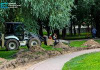 Парк 1100-летия начали ремонтировать
