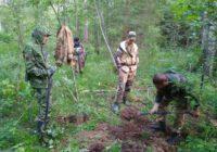 Московские поисковики нашли останки 7 красноармейцев рядом с Ярцево