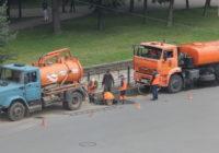 «Горводоканал» продолжает ремонтные работы на Дзержинского