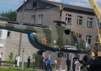 В Вязьме устанавливают памятник погибшим вертолётчикам