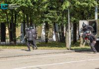Спецназ ворвался в Драмтеатр