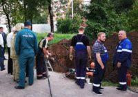 Повреждённый строителями газопровод восстановлен