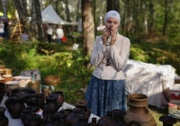 Под Смоленском проходит исторический фестиваль «Гнёздово»
