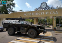 В центре Смоленска замечены вооружённые люди