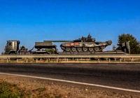 В соцсетях обсуждают загадочную колонну бронетехники в Смоленске