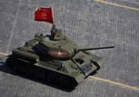 По главной площади Смоленска проедет легендарный Т-34