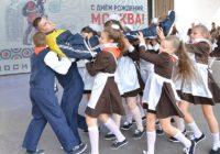 Смоленские танцоры выступили в Москве на праздновании Дня города
