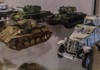 В Смоленске открылась выставка моделей военной техники