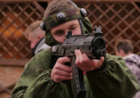 В Смоленске стартовал открытый чемпионат по военно-тактической игре лазертаг