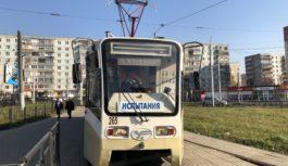 Прибывшие в Смоленск трамваи готовятся выйти на линию