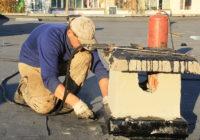 Крышу проблемной поликлиники на Киселёвке отремонтировали