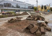 Новые скверы в Смоленске не успели сдать в срок