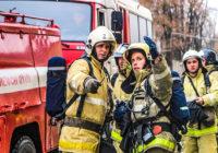 В новом перинатальном центре прошли пожарные учения