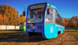 Московские трамваи прибыли в Смоленск