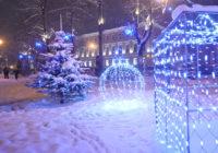 Прогулка по новогоднему Смоленску