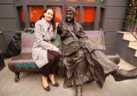В Лондоне появилась скульптура Бабы Яги, изготовленная в Смоленске