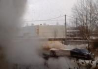 На выходных в Смоленске устранили последствия аварии на паропроводе