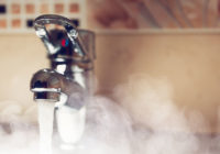 В пяти домах Смоленска отключат горячую воду до начала февраля