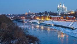 Смоленск признан самым холмистым городом страны
