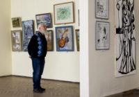 Молодёжь и Вязьма. В Смоленском Доме художника открылись сразу две выставки