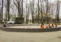 Смоленские фонтаны готовятся к запуску