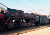 В Смоленск прибыли пять ретро-паровозов
