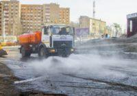 Смоленские улицы начнут мыть шампунем