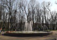 В Смоленске заработал фонтан на Блонье