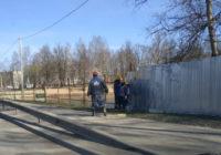 В «Соловьиной роще» убирают забор