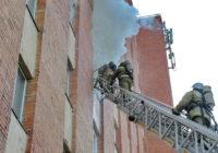 В Смоленске произошёл пожар в общежитии медуниверситета