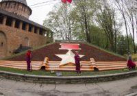 В Смоленске началась высадка цветников