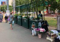 В Смоленске организовали места для торговли дачников