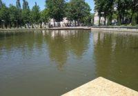 В главном парке Смоленска впервые выступили на плавучей сцене