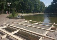 В главном парке Смоленска появится плавучая сцена