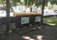 В Смоленске устанавливают новые контейнеры