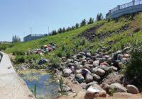 Набережная Смоленска украшается силами городских активистов
