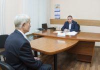 Глава города Андрей Борисов провел прием граждан по личным вопросам