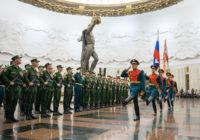 Новобранцы Преображенского полка из Смоленска приняли военную присягу