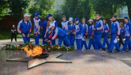 Открытие XIII Туристского слета учащихся Союзного государства состоялось в Смоленске