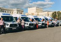 В Смоленске комплексным центрам социального обслуживания населения передали автомобили