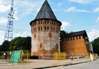 В Смоленске началась реставрация Башни Громовая