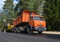 В Смоленской области продолжается ремонт дорог