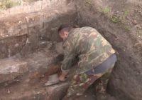 Во время раскопок у Смоленской Крепостной стены обнаружено средневековое кладбище
