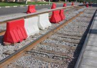 В Смоленске идёт реконструкция трамвайного проезда
