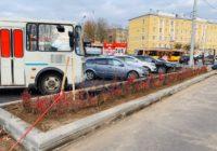 В Смоленске началось озеленение проспекта Гагарина